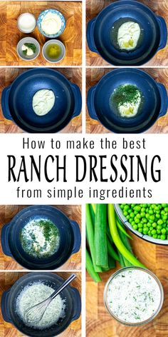 This Ranch Dressing is so easy to make in under 5 minutes, rich in flavor and you wouldn't believe it is vegan. Made with 3 herbs and pickled juice. You know it is a winner that you always come back for more. #vegan `#dairyfree #vegetarian #contentednesscooking #dinner #lunch #mealprep #ranchdressing Vegan Ranch Dressing, Ranch Dressing Recipe, Salad Dressing, Healthy Comfort Food, Comfort Foods, Healthy Foods, Dairy Free Diet, Dairy Free Recipes, Gluten Free