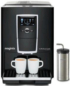 Robot Café Automatic 11493 Laqué noir avec écran LCD Magimix. Chocodivins.com Latte Macchiato, Carafe, Lcd, Expresso, Laque, Keurig, Robot, Coffee Maker, Kitchen Appliances