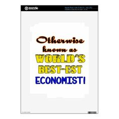 Otherwise known as world's bestest Economist iPad 3 Decals