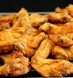 Recipe for Chili Tex-Mex Fried Chicken Wings