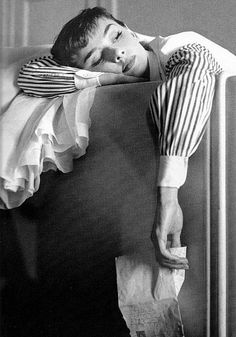 Black and white photo of Audrey Hepburn | Photography | Famous Movie Star | vintage