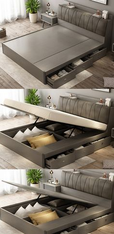 Next Post Previous Post 63 Awesome Double Bed Idea – Farmhouse Room Next Post Previous Post Bedroom Furniture Design, Wooden Bed With Storage, Home Room Design, Bed Design Modern, Modern Bedroom Design, Bed Furniture Design, Bed Designs With Storage, Wardrobe Design Bedroom, Bedroom Bed Design