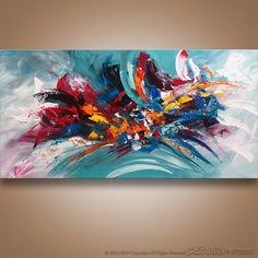 The Modern Art Movements – Buy Abstract Art Right Abstract Painting Easy, Abstract Painting Techniques, Abstract Wall Art, Stone Painting, Knife Painting, Painting Art, Modern Art Movements, Amazing Paintings, Acrylic Art