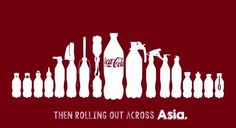 Beginning in Vietnam, the bottle caps are given out after a customer purchases a bottle of Coke. The campaign will then spread across Asia.