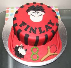 Made This Cake For My Sons 8th Birthdayhe Is A Mad Beano Fan As cakepins.com