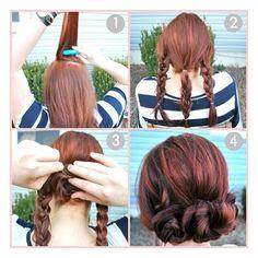 #hair #step by step #tutorial