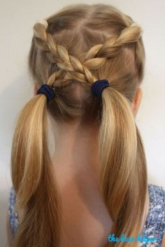 6 Easy Hairstyles For School That Will Make Mornings Simpler, Peinados, Looking for some quick kids hairstyle ideas? Here are 6 Easy Hairstyles For School That Will Make Mornings Simpler, and still get you out the door on . Easy Hairstyles For School, Popular Hairstyles, Trendy Hairstyles, Beautiful Hairstyles, Short Haircuts, Hairstyles 2018, Newest Hairstyles, Braid Hairstyles, Hairdos