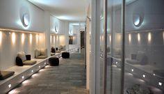 Palanga Spa Design Hotel i Palanga, Litauen - Offerdalskifer Spa Design, Design Hotel, Slate, Bathroom Lighting, Divider, Furniture, Home Decor, Lithuania, Homemade Home Decor