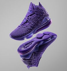 Nike Partners With NBA For Gamer Exclusives Sneaker Releases Tenis Basketball, Jordan Basketball Shoes, Volleyball Shoes, Purple Sneakers, Casual Sneakers, Sneakers Fashion, Men's Sneakers, Fashion Outfits, Nike Kicks