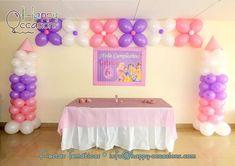 Decoración fiesta Princesas Disney