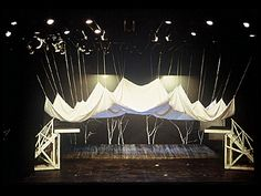 Jaroslav Malina designed this set for a 1985 production of A Midsummer Night's Dream. Design Set, Stage Set Design, Set Design Theatre, Event Design, Salas Lounge, Contemporary Theatre, Le Zoo, Theater, Midsummer Nights Dream