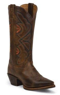 Tony Lama Women's Saddle Rio 3R Western Cowgirl Boots
