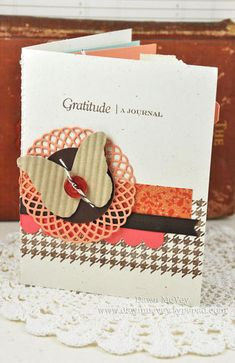 gratitude journal...something I want to do for 2012