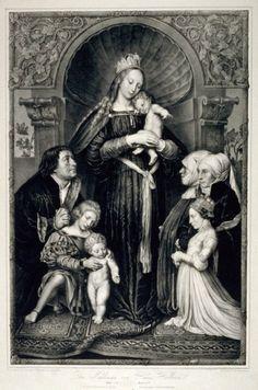 Die Madonna von Hans Holbein