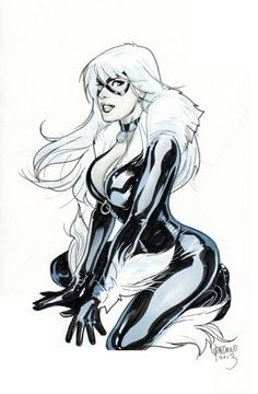 Super serré chatte noire