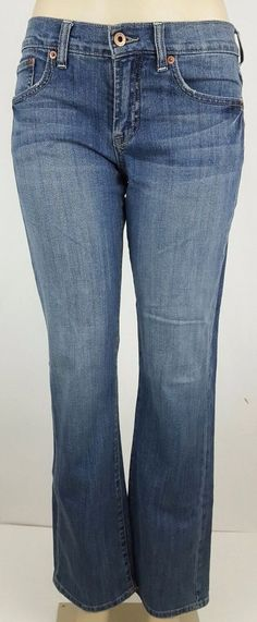 132650c1d2b Lucky Brand Easy Rider Women's Bootcut Jeans Size 4 #LuckyBrand #BootCut.  The Trading Depot