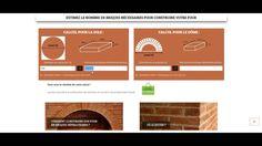 Comment construire un four à pain , le calcul des briques Four A Pizza, Chart, Tub, Construction, Simple, Refractory Brick, Bread Oven, How To Build, Backyard Farming