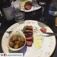 En gæst har været en tur på @besteakcph med #spisogstøt  - hvor skal du spise i denne uge? Tak for foto @jegheddertanja #restaurant #foodstagram #foodie #illumrooftop #instagram
