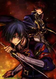 Akito the Exiled   Suzuya and Akito   The battle of the Knights