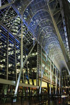 Brookfield Place, Do Santiago Calatrava, Canada Eh, Toronto Canada, Art And Architecture, Architecture Details, Toronto Architecture, Brookfield Place, Richmond Hill, Downtown Toronto