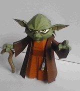 yoda starwars paper Yoda Papercraft from Starwars