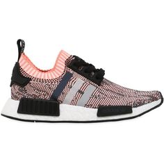 Adidas Originals Women Nmd R1 Primeknit Sneakers ($225) ❤ liked on Polyvore featuring shoes, sneakers, adidas originals sneakers, rubber sole shoes, adidas originals trainers, adidas originals shoes and adidas originals