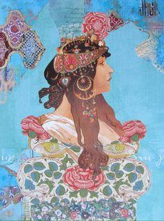 Los Collages de Kanchan Mahon – Epéntesis