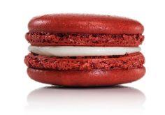 Red Velvet Macaron - Dana's Bakery, New York