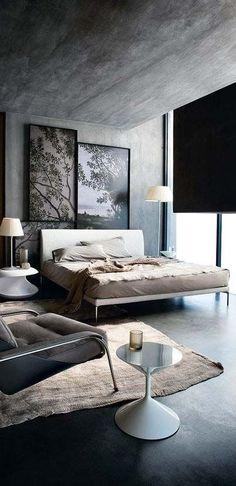 own your morning // urban men // city life // morning // urban apartment // bedrooms // home decor //