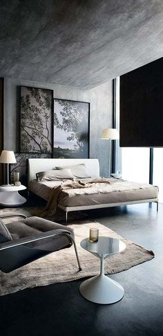 own your morning // urban men // city life // morning // urban apartment // bedrooms // home decor //                                                                                                                                                                                 More
