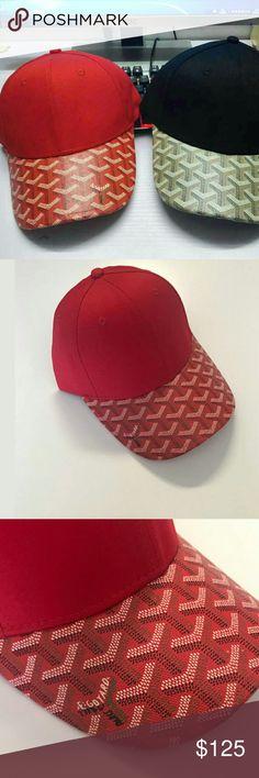 041898efa3f Goyard brim dad baseball cap by SuburbanVintageShop on Etsy