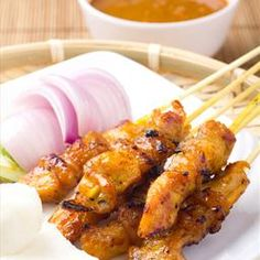 Chicken Satay on BigOven: These are delicious eaten hot or cold, and are ideal for packed lunches or picnics.