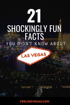 Despite it's popularity, there are some fun facts about Las Vegas that you probably don't know. These Vegas facts are sure to surprise you. Hopefully, one or more of these factoids about Las Vegas will help you win your next Trivial Pursuit game night! Las Vegas Vacation, Vegas Fun, Visit Las Vegas, Italy Vacation, Romantic Vacations, Best Vacations, Romantic Travel, Las Vegas Eats, Las Vegas Valley