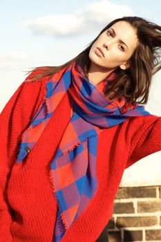 #scarf #fashion #colors #style Love these colors!! thakoon-masai-scarf.jpg