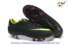 huge selection of 7bfb3 ab59c Nike Mercurial Vapor VIII FG Noir Vert FT6484
