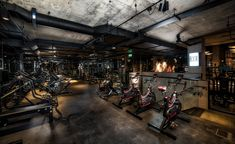 Knock out: Bergman Interiors packs a punch at boutique boxing gym BXR London Studio Boxing Gym Design, Design Studio London, Gym Lighting, Victoria Secret Workout, Gym Interior, Interior Design, Interior Architecture, Home Gym Design, Gym Decor