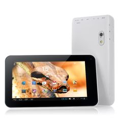 Boa - Budget 7 Inch Android 4.2 Tablet PC (VIA8880 Dual Core 1.5GHz CPU, Dual Camera)