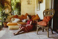Carte postale Brigitte Bardot Saint-Tropez Shopping