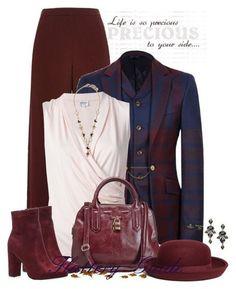 Роскошный цвет для придания образу строгости и изысканности. 3