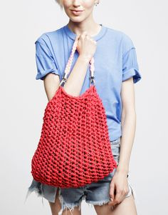 Presenting Milo Beach Bag by Wool and the Gang #WATGFestival