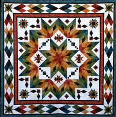 glacier star quilt kits | Chris Hoover Taos 297x300 QDS™ Challenge 1 Showcase Chris Hoover