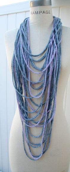 Infinity Necklace Scarf FREE Shipping  by PIYOYO.
