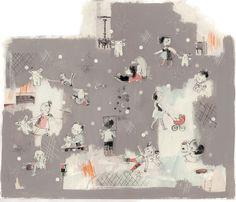 Dans la petite box: Isabelle Arsenault
