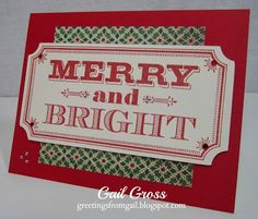Greeting from Sparkle & Shine Scrapbooking WOTG - Greetings from Gail
