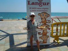 Paella en el Paseo Marítimo de Vinaròs.  www.langur.es