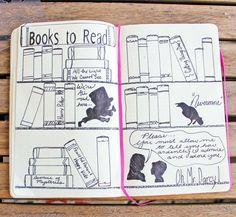 Celui-ci est pour le livresque. Envie de faire une liste de livres à lire, mais ne veulent pas vraiment cest juste une liste de livres à lire ? Avec ce gabarit, vous pouvez une belle étagère de romans de stylo et écrire les titres à lire des livres sur les épines. Tellement chic ! Puis utilisez lune des silhouettes littéraires pour orner votre étagère ainsi.  Ce gabarit permet également pour une « films to Watch » ou une page de « Montre à surveiller » aussi bien. Voici les éléments que vous…