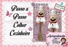 (DIY) PASSO A PASSO COLHER COZINHEIRO - Especial Dia das Mães #4