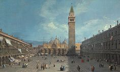 Canaletto: Piazza San Marco (1988.162) | Heilbrunn Timeline of Art History | The Metropolitan Museum of Art