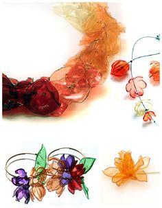Plastic (PET) bottle creations ...