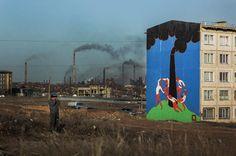 """""""Dance""""by Pasha Cas, #Temirtau, #Kazakhstan, #mural, #matisse, #streetart,"""